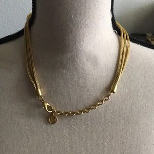 Givenchy Jewelry - Authentic Givenchy Gold Medallion Necklace